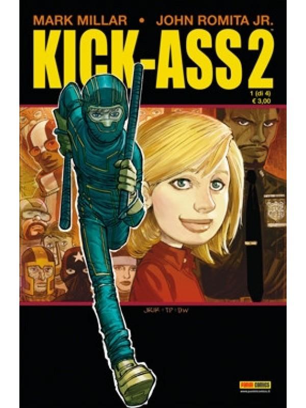 Kick-Ass 2 - Panini Comics Presenta - Serie completa 1/4