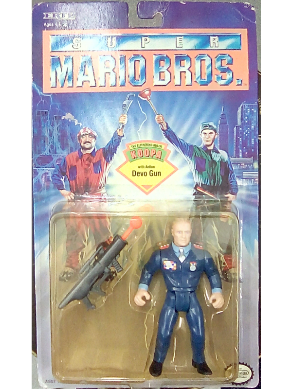 The Slithering Ruler with Action Devo Gun - Super Mario Bros. - Nintendo - Action Figure