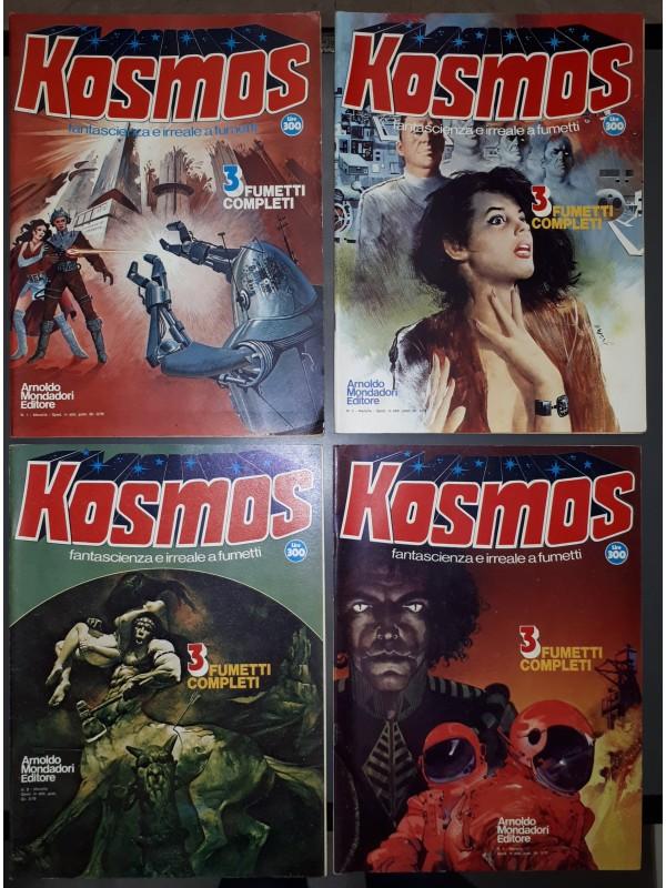 Kosmos - Fantascienza e Irreale a Fumetti - Arnoldo Mondadori Editore - Sequenza in blocco 1/4