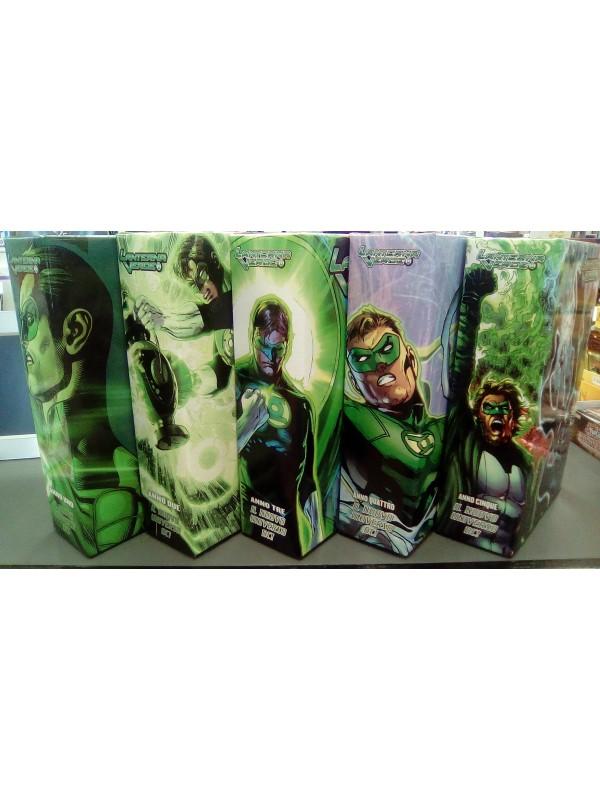 Lanterna Verde The New 52 - Anno I - II - III - IV - V con cofanetti - Lion - Serie completa 1/56