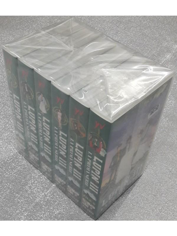 Lupin III - La Prima Serie - VHS - Serie completa di 6 Videocassette