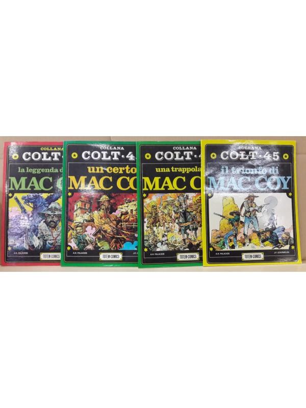 Mac Coy - COLLANA COLT 45 - Totem Comics - Serie completa 1/4