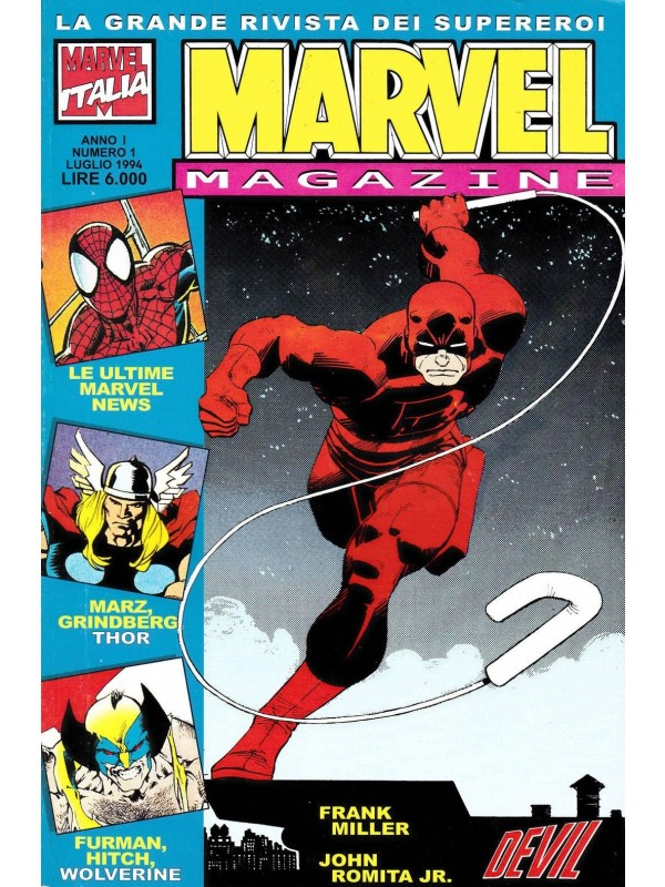Marvel Magazine - Panini Comics - Serie completa 1/16