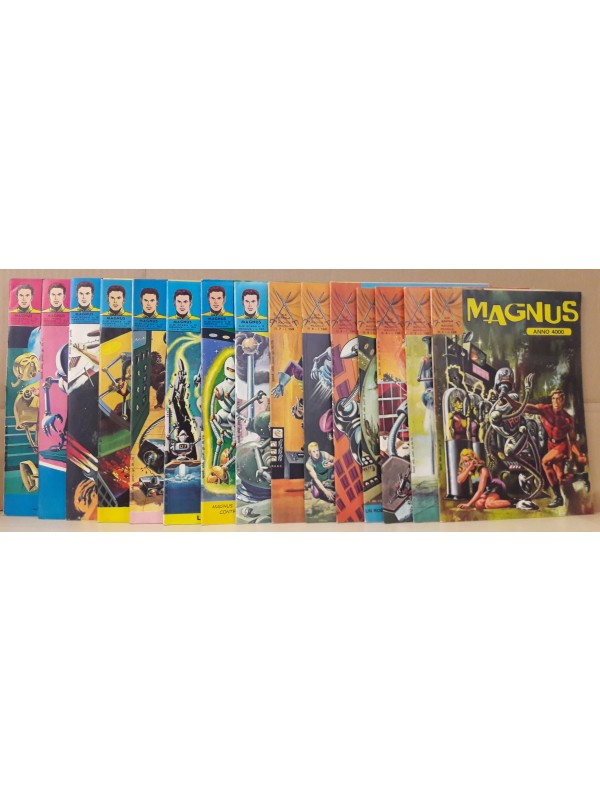Magnus - Anno 4000 - Edizioni F.lli Spada - 1972/1974 - Serie completa 1/15