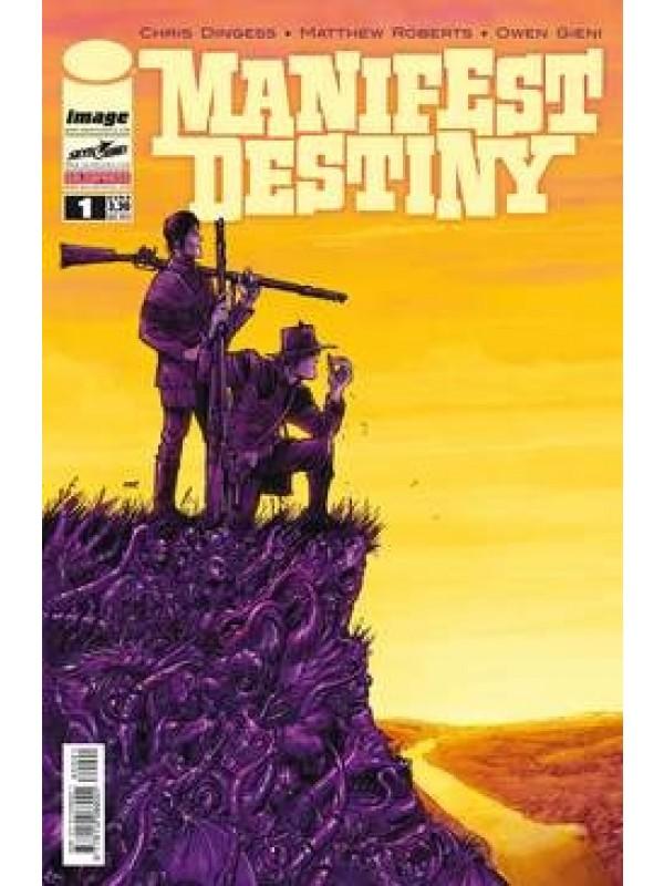 Manifest Destiny (Edicola) - Salda Press - Serie completa 1/18