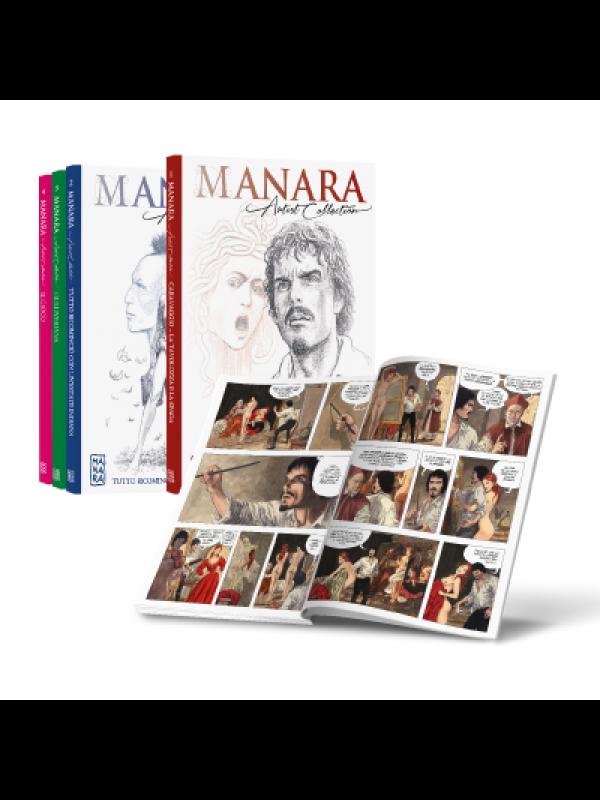 Manara Artist Collection - Panini Comics/Corriere della Sera/La Gazzetta dello Sport - Serie completa 1/45