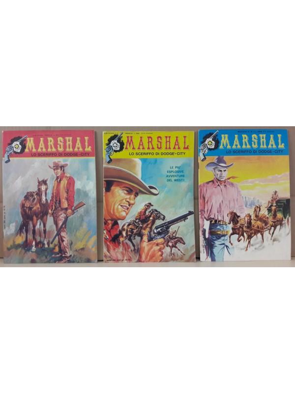 Marshal - Lo sceriffo di Dodge-City - Edizioni F.lli Spada - 1973 - Serie completa 1/3