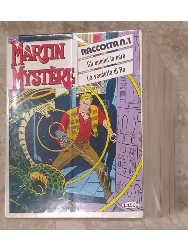 Martin Mystere Raccolta - Sergio Bonelli Editore - Sequenza in blocco 1/27