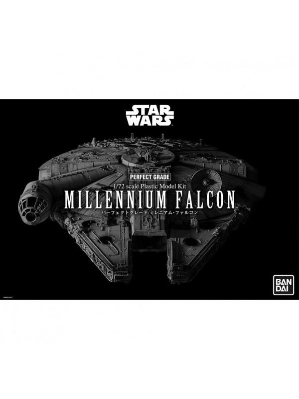 Millennium Falcon - Star Wars - 1/72 scale Plastic Model Kit - Perfect Grade - Revell/Bandai