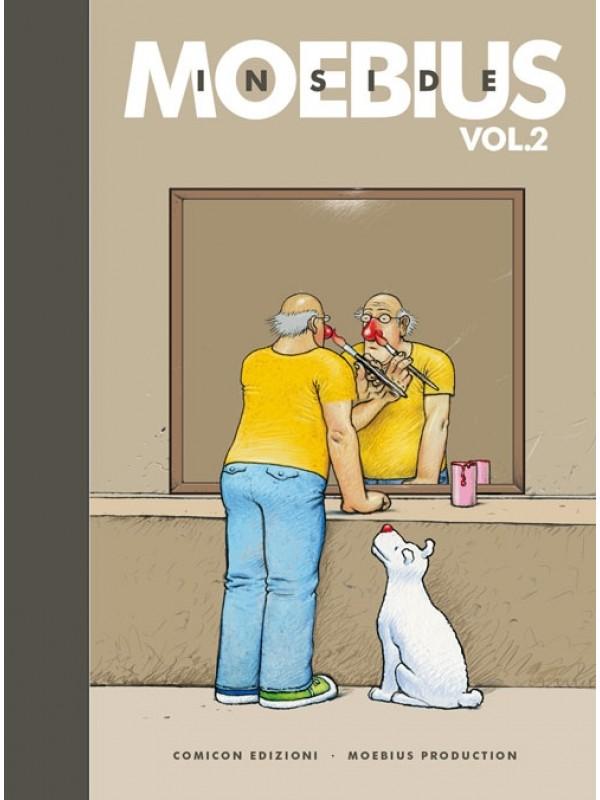 Inside Moebius Edizione Cartonata Numerata Bodoniana con Stampe - Comicon Edizioni - Serie completa 1/3