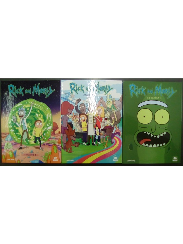 Rick and Morty - Eagle Pictures - Serie completa in DVD Stagioni 1/3