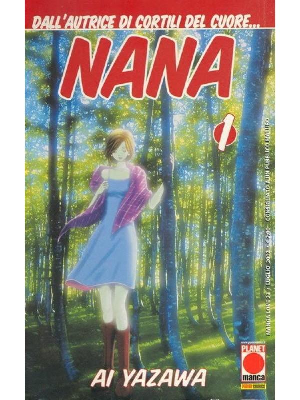 Nana - Prima edizione - Planet Manga/Panini - Sequenza in blocco 1/35
