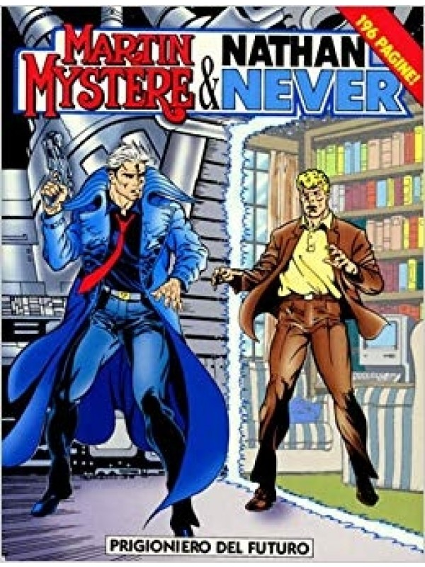 Martin Mystere & Nathan Never - Bonelli - Serie completa 1/2