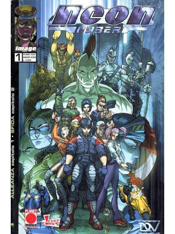 Neon Cyber - Panini Comics - Miniserie Completa 1/4