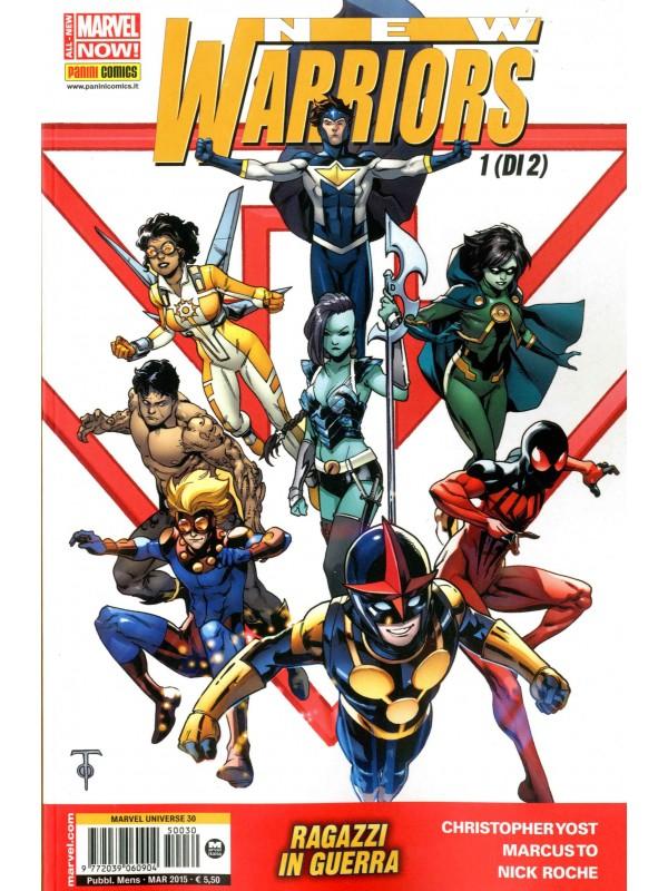New Warriors - Marvel Universe - Panini Comics - Serie Completa 1/2