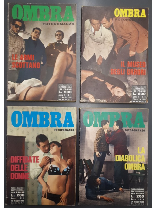 Ombra - Fotoromanzo - Euroedizioni - 1968 - Sequenza in blocco 1/4