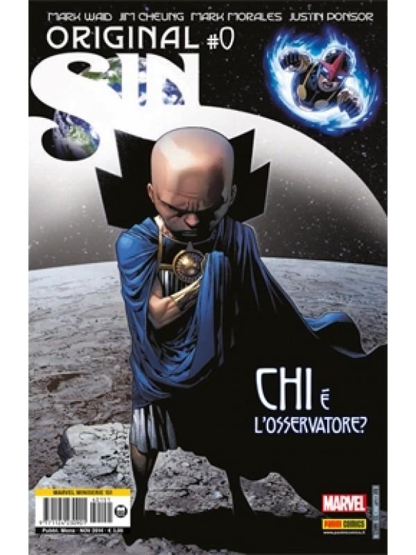 Original Sin - Marvel Miniserie - Cover Eye - Panini Comics - Serie completa 1/4 + Numero 0 + Numero Speciale + Thor & Loki + Hulk vs. Iron Man