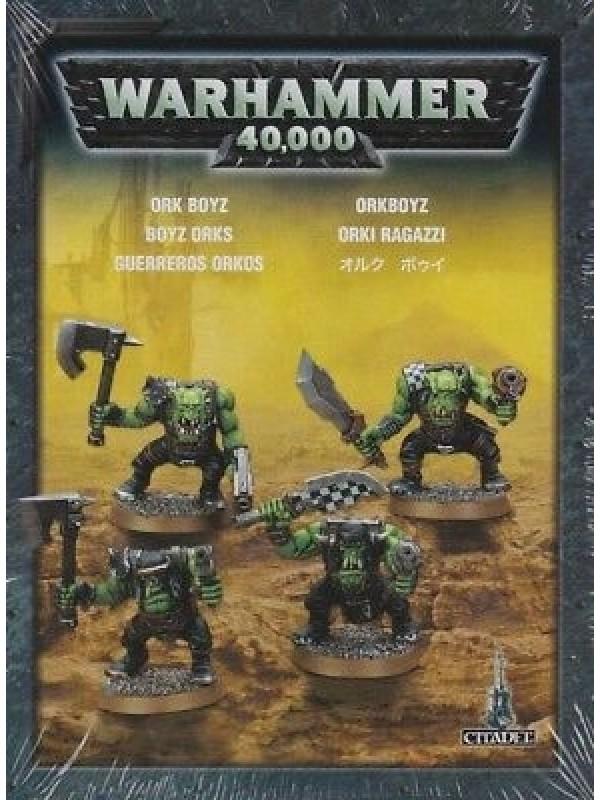 Orki Ragazzi - Ork boyz - Warhammer 40,000 - Games Workshop