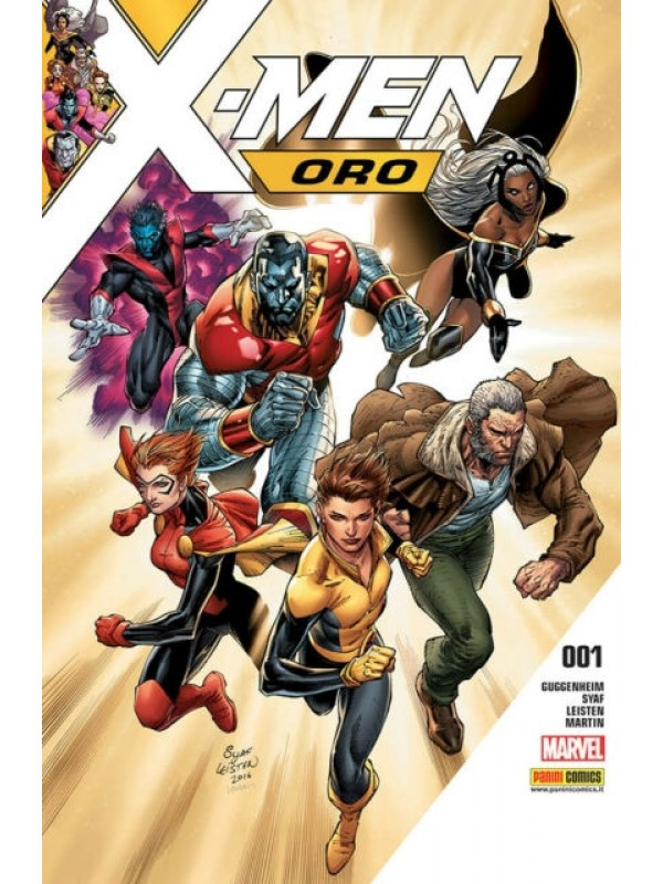X-Men Oro - Gli Incredibili X-Men - Panini Comics - Serie Completa 1/18 + Numero 0