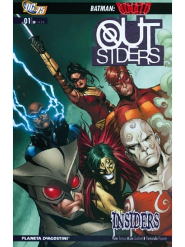 Outsiders TP - Planeta DeAgostini - Serie completa 1/2
