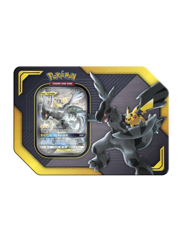 Tin Pikachu e Zekrom - Pokemon GX Tag Team