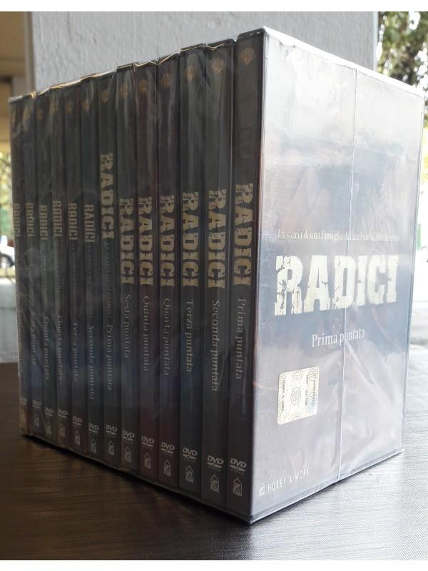 Radici - La storia di una Famiglia dalla Schiavitù alla Libertà - Hobby & Work - 2 Serie complete (13 dvd)