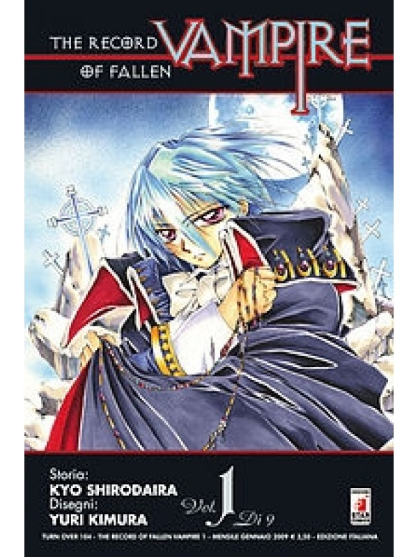 The Record of Fallen Vampire - Star Comics - Serie completa 1/9
