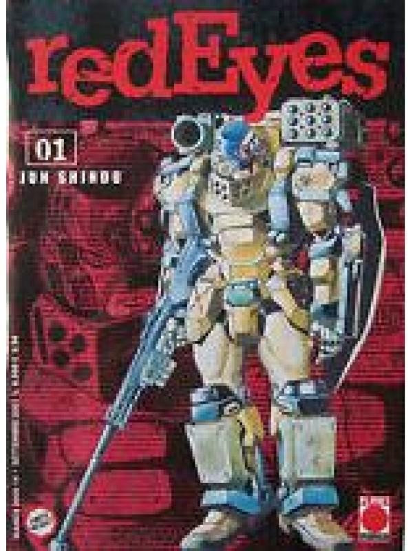 Red Eyes - Planet Manga (Blocco - sequenza 12 numeri)