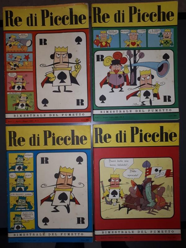 Re di Picche - A.G.I.S. - Serie completa 1/4
