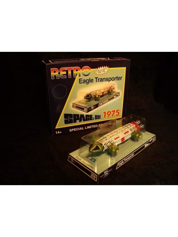 Retro Eagle Transporter 1975 - Space: 1999 - Special Limited Edition - Sixteen 12 Collectibles LTD - ITV Studios