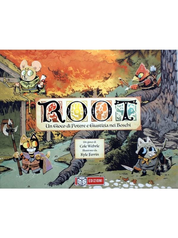 Root - Un Gioco di Potere e Giustizia nei Boschi - Gioco da Tavola - MS Edizioni