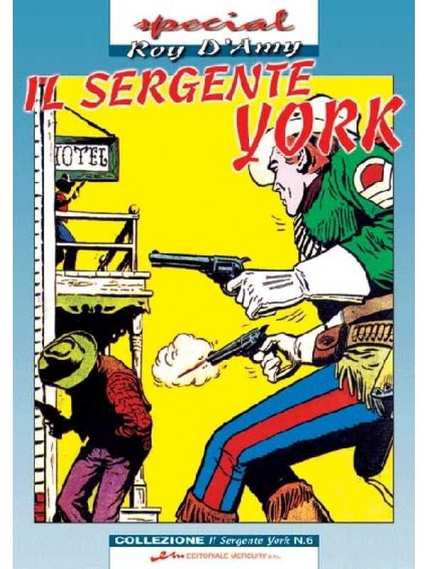 Il Sergente York - Special Roy D'Amy - Editoriale Mercury S.R.L. - Serie completa 1/6
