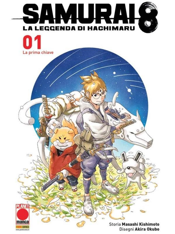 Samurai 8 - La Leggenda di Hachimaru - Planet Manga - Serie Completa 1/5