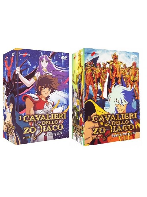 I Cavalieri dello Zodiaco - La serie Tv - Sanctuary Box e Asgard  & Poseidon Box - Yamato Video