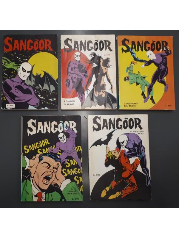 Sangoor - Edizioni Hydra - 1968 - Sequenza in blocco 1/5