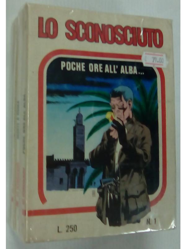 Lo Sconosciuto - Magnus - Edizioni del Vascello - Serie completa 1/6