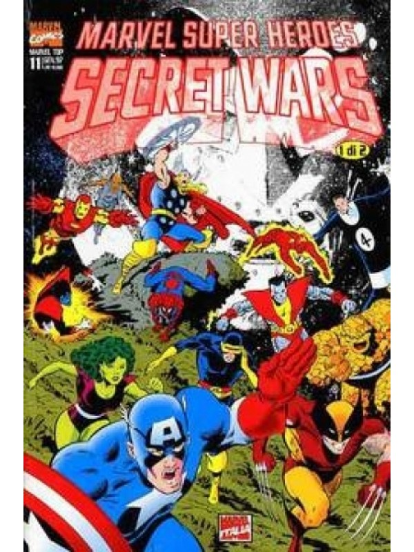 Marvel Super Heroes Secret Wars - Marvel Top - Marvel Italia - Miniserie Completa 1/2