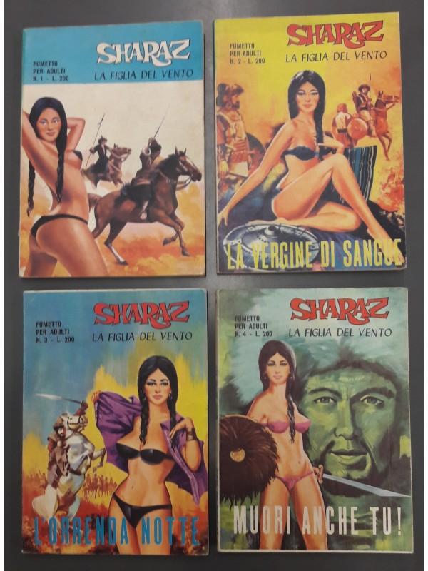 Sharaz - La Figlia del Vento - Società Internazionale di Edizioni (La Terza Editrice) 1971 - Serie completa 1/4