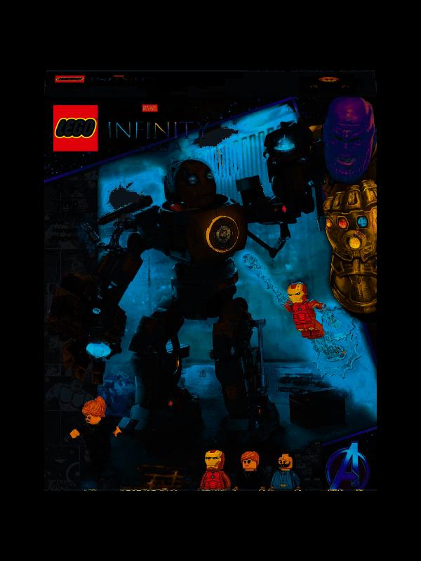 Lego 76190 - Iron Man: Iron Monger scatena il caos - Marvel Studios: The Infinity Saga