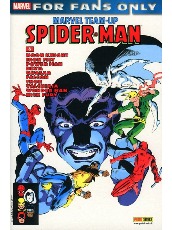 Spider-Man Marvel Team-Up - For Fans Only - Panini Comics - Serie Completa 1/2