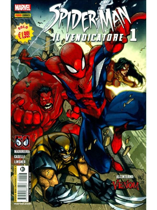 Spider-Man il Vendicatore - Spider-Man Universe - Panini Comics - Serie completa 1/20