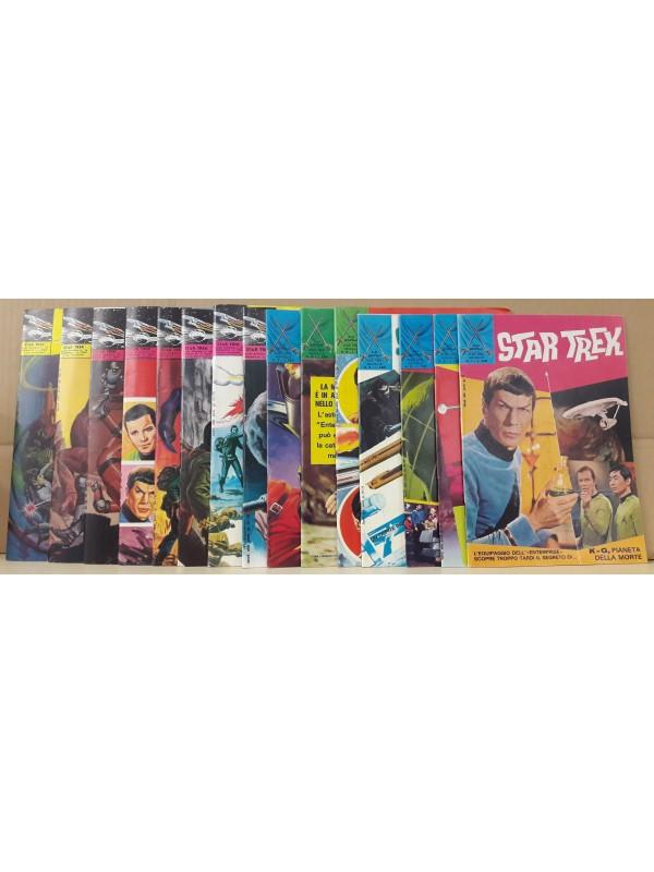 Star Trek - Edizioni F.lli Spada - 1972 - Serie completa 1/15