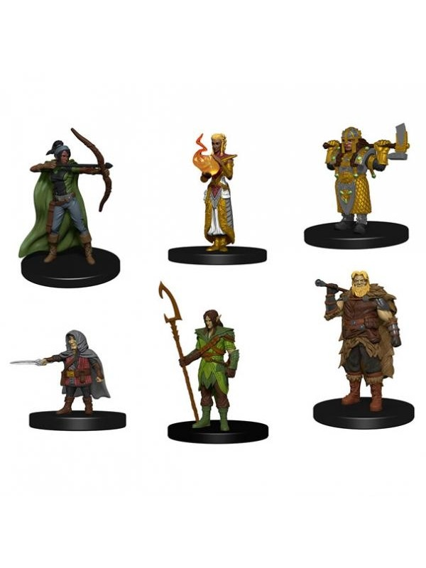 Icons of the Realms - Starter Set - D&D - Dungeons & Dragon