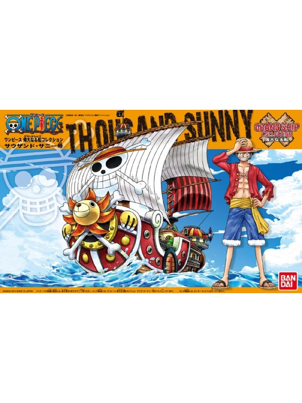 THOUSAND SUNNY - One Piece - Grand Ship Collection - Bandai Model Kit