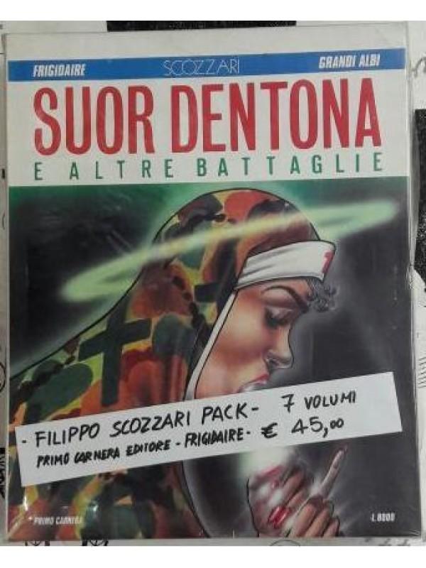 Filippo Scozzari Pack - Frigidaire / Primo Carnera Editore - Blocco di 7 volumi
