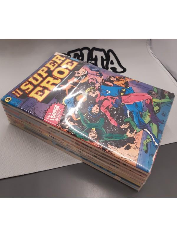 Il Super Eroe - Editoriale Corno - 1978-1979 - Serie Completa 1/15 con Adesivi