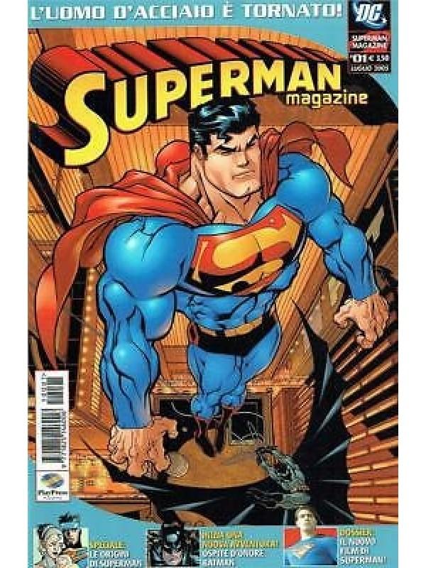 Superman Magazine - Play Press - Serie Completa 1/8