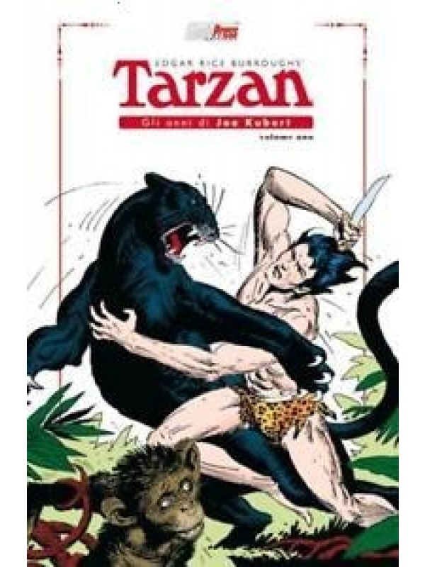 Tarzan (Edgar Rice Burroughs) - Gli Anni di Joe Kubert - Magic Press - Serie completa 1/3