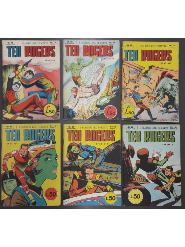 I CLASSICI DEL FUMETTO - Ted Rogers - Spaziale (Buck Rogers) - Serie completa