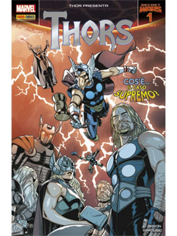 Thors - Thor: Secret Wars - Panini Comics - Miniserie completa 1/4